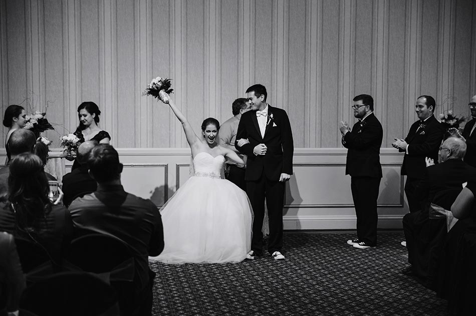St Paul Hotel winter wedding mn