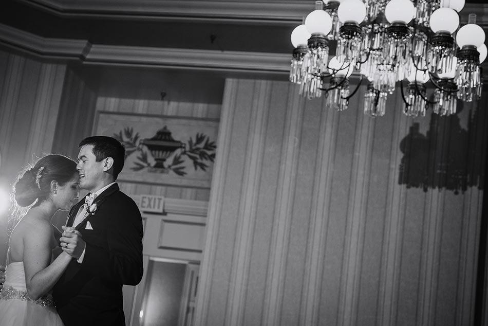 first dance St Paul Hotel winter wedding mn