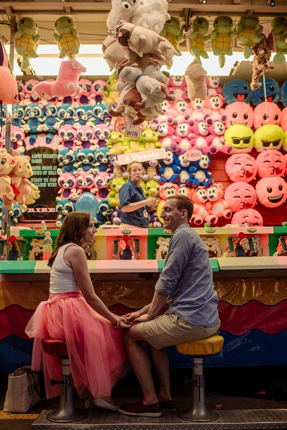 games Minnesota State Fair engagement photos