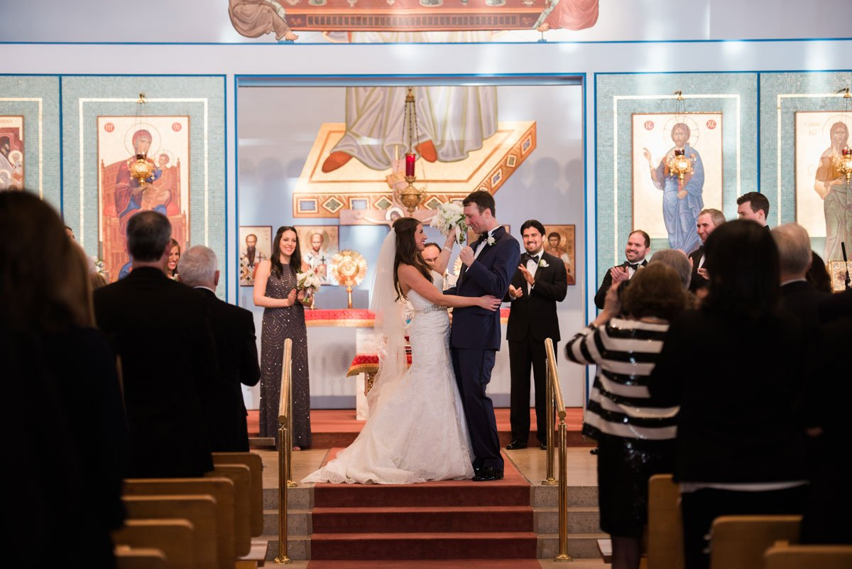 fun minneapolis wedding st marys greek orthodox church