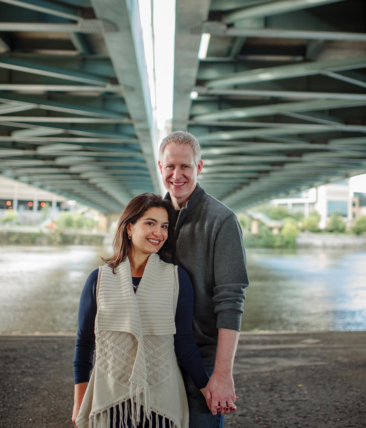 bridge minneapolis modern family photos