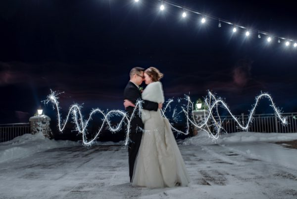 MN winter wedding preview