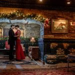 dramatic dark wa frost intimate winter wedding st paul mn