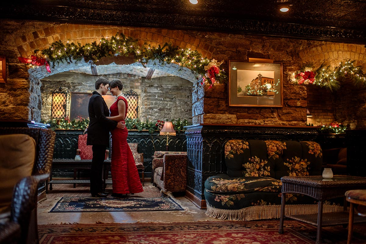 dramatic dark wa frost intimate winter wedding st paul mn