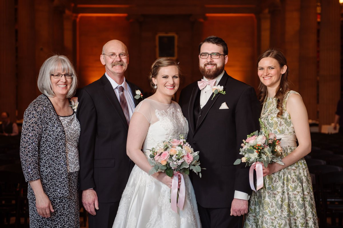 family portrait jj hill library wedding st paul photographer