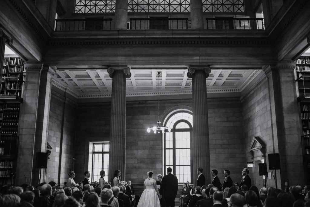 ceremony jj hill library wedding st paul photographer