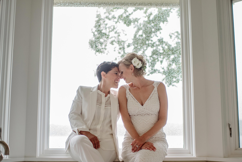 Minneapolis Wedding Photographer two brides