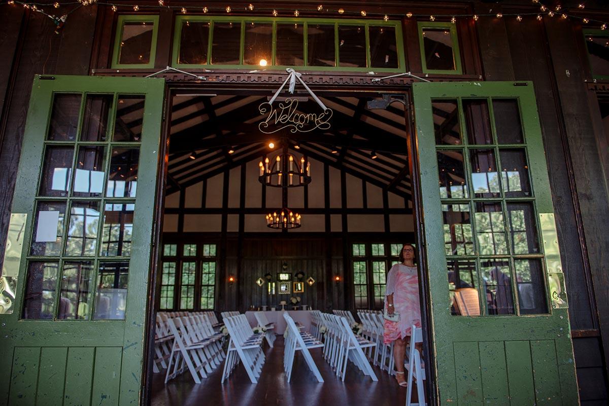 ceremony space Outdoor Minneapolis Wedding