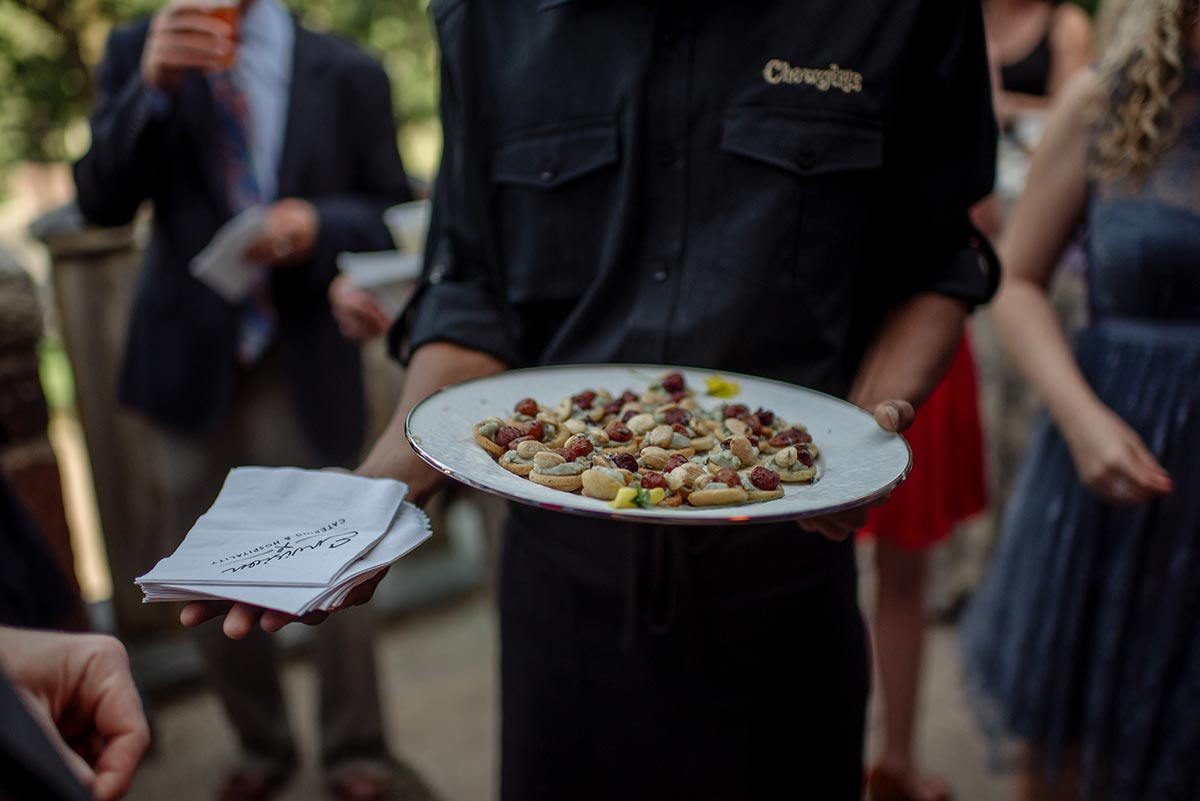 chowgirls catering Outdoor Minneapolis Wedding