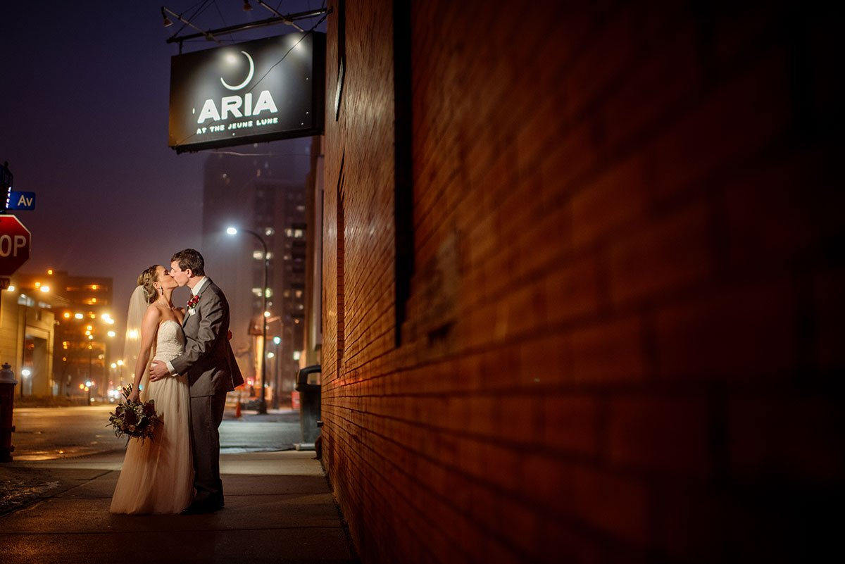 best Aria Winter Wedding Minneapolis