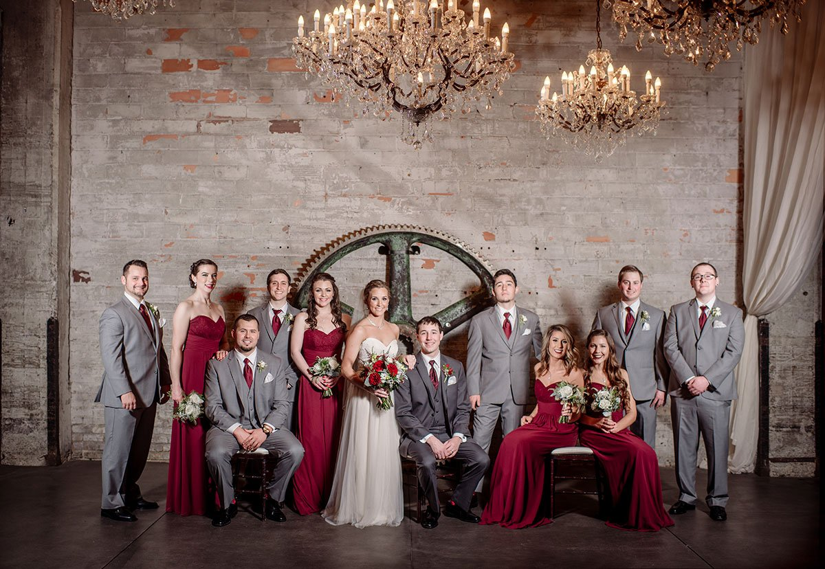 flash composite Aria Winter Wedding Minneapolis