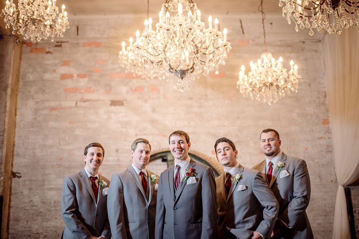 groomsmen Aria Winter Wedding Minneapolis