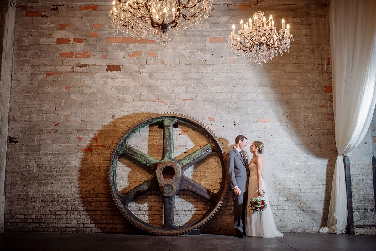 large gear Aria Winter Wedding Minneapolis