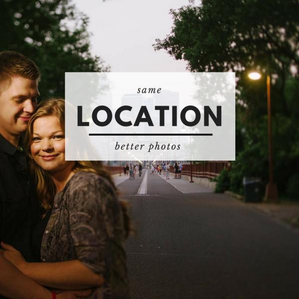 Same Location Better Photos Best Minneapolis Wedding Photographer