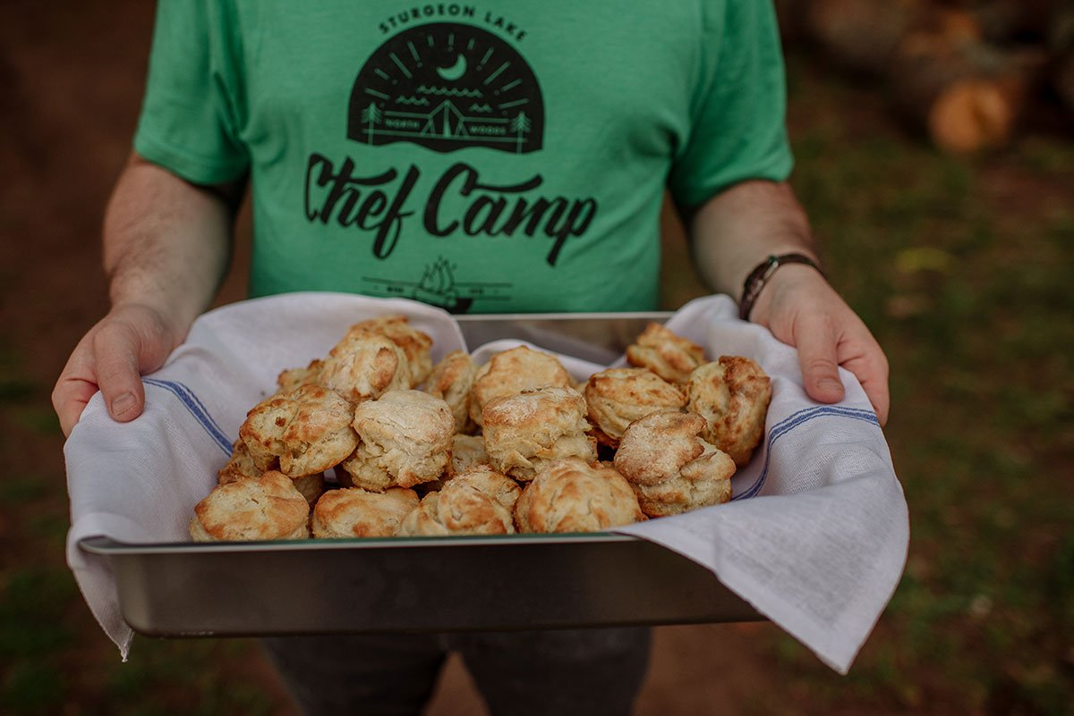 Mn food and editorial features photographer chef camp