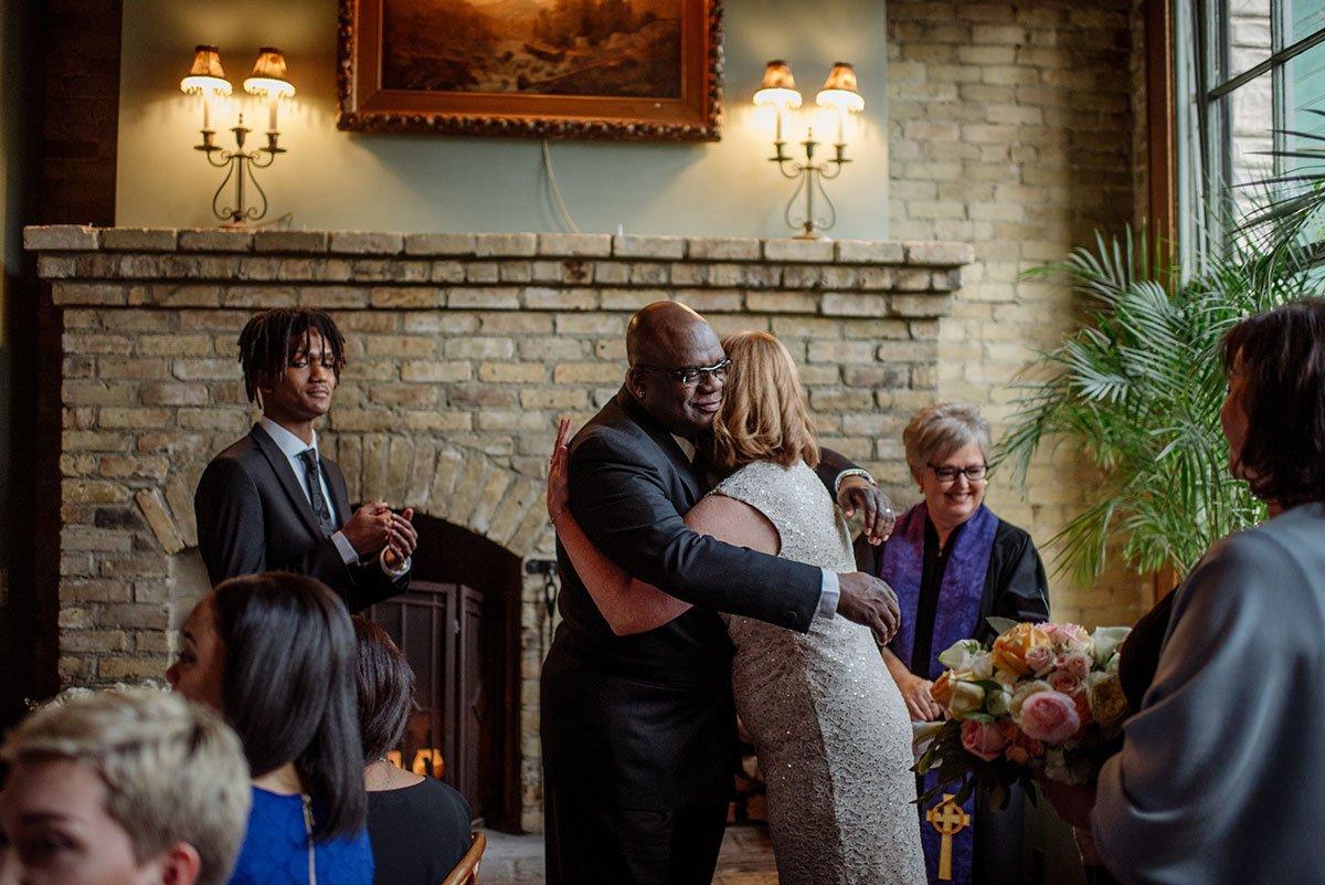 Intimate wa frost wedding st paul mn