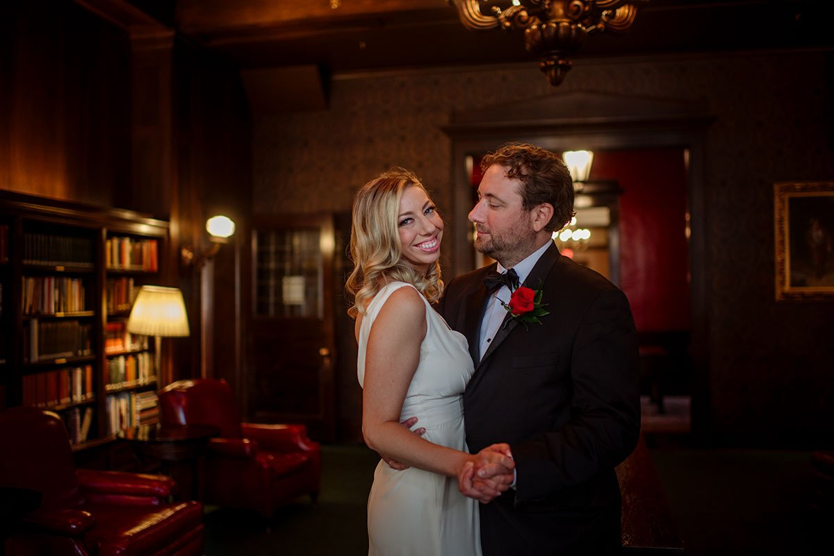 Minneapolis Club and Sanctuary Restaurant wedding