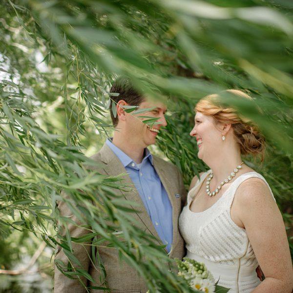minnesota backyard wedding