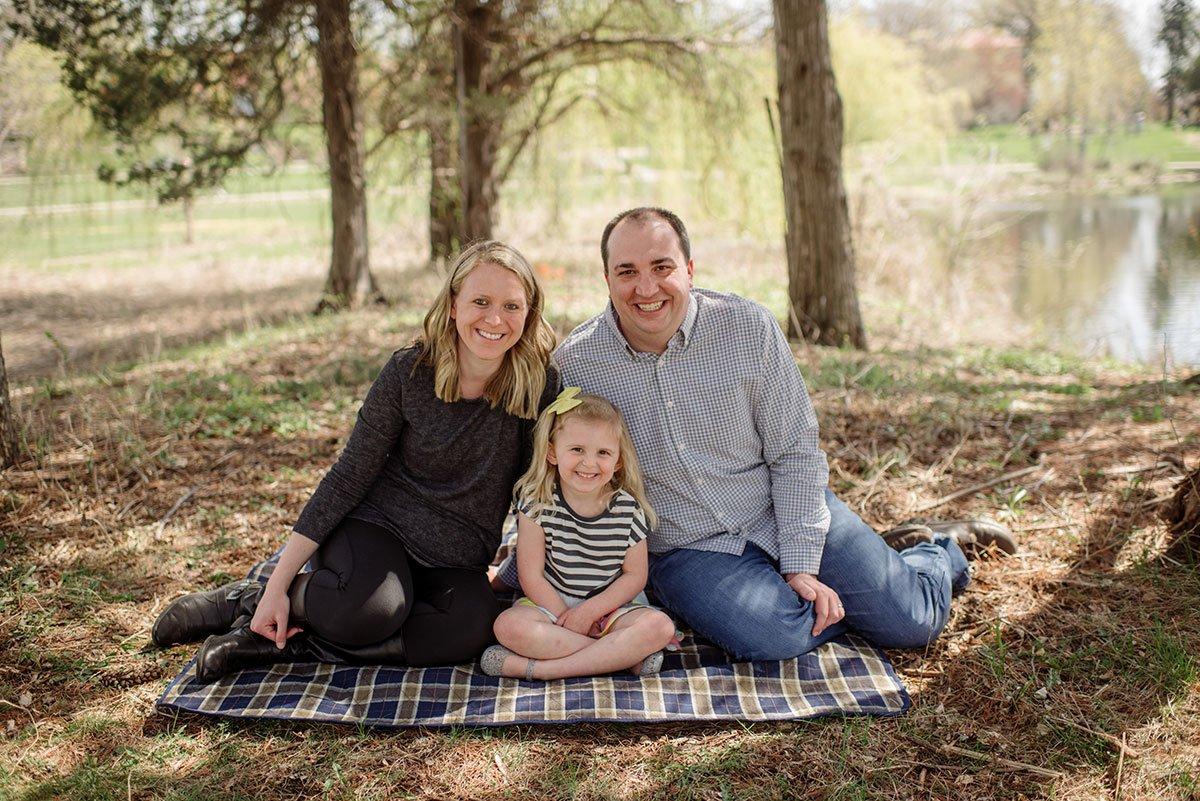 minneapolis family photographer short portrait sessions
