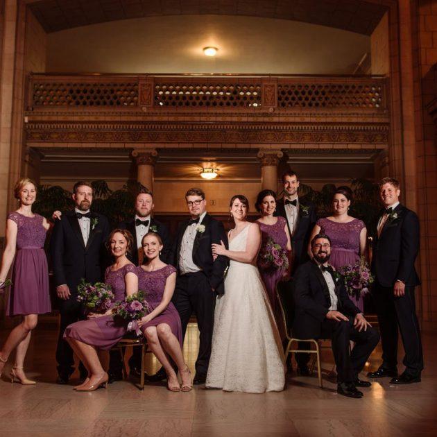 flash composite st paul athletic club wedding
