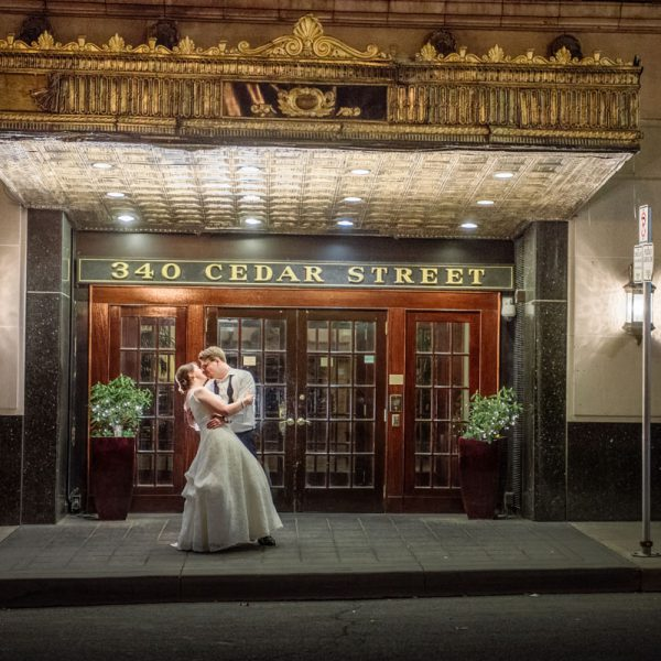 St Paul Athletic Club Wedding - Meg and Peter