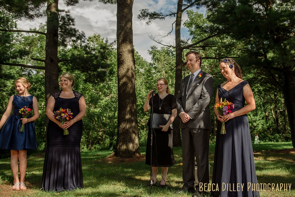Carleton College Wedding