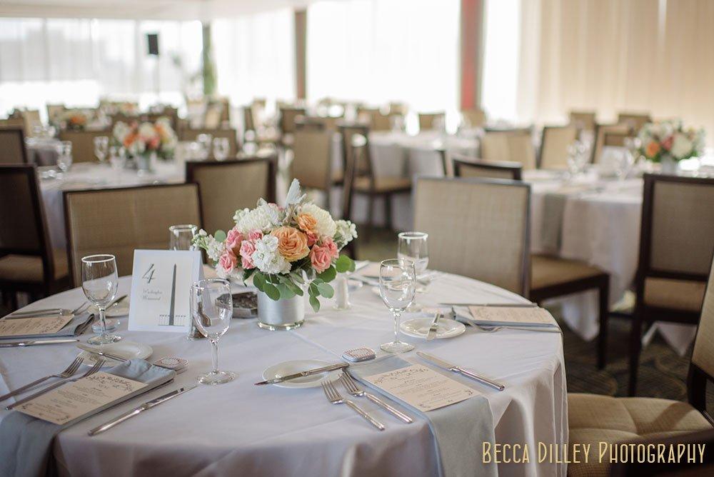 dinning room Minneapolis Campus Club Wedding