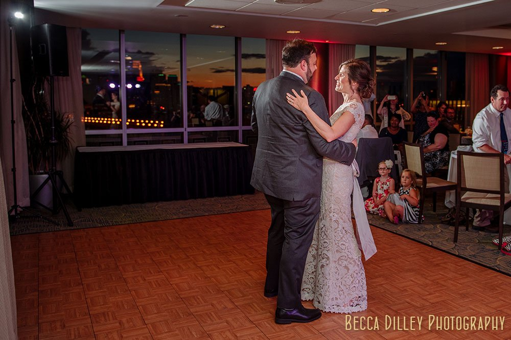 first dance Minneapolis Campus Club Wedding