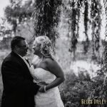 bride and groom at Majestic Oaks Golf Club Wedding MN