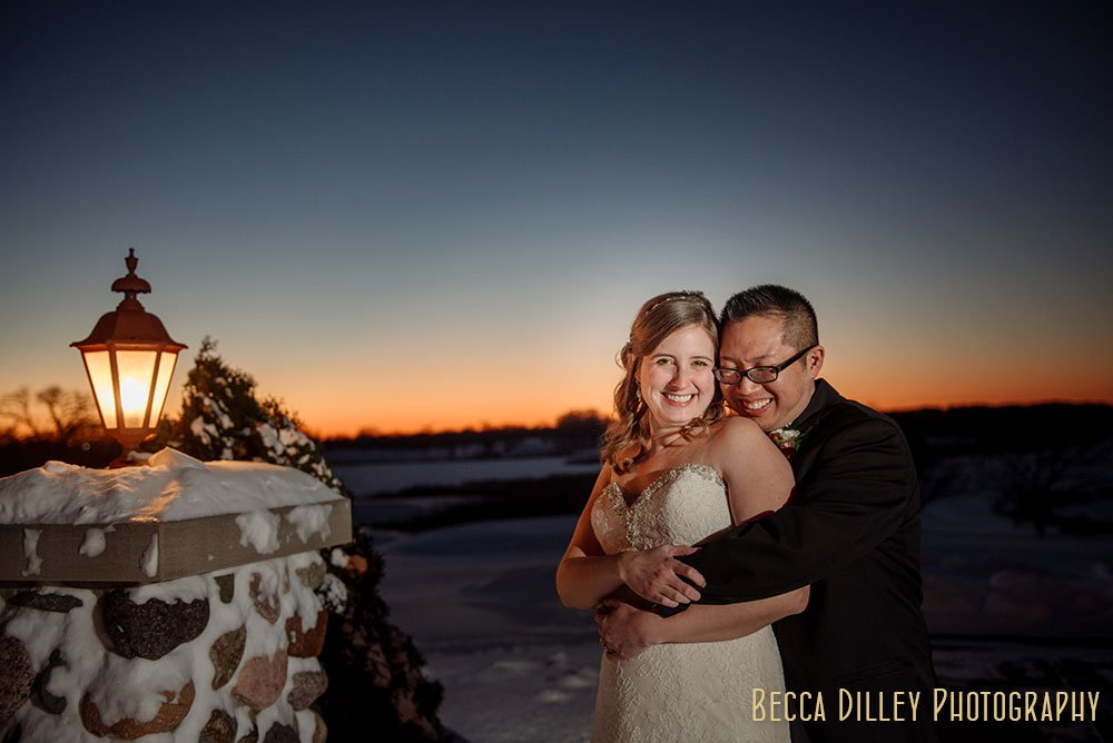 Rush creek wedding mn