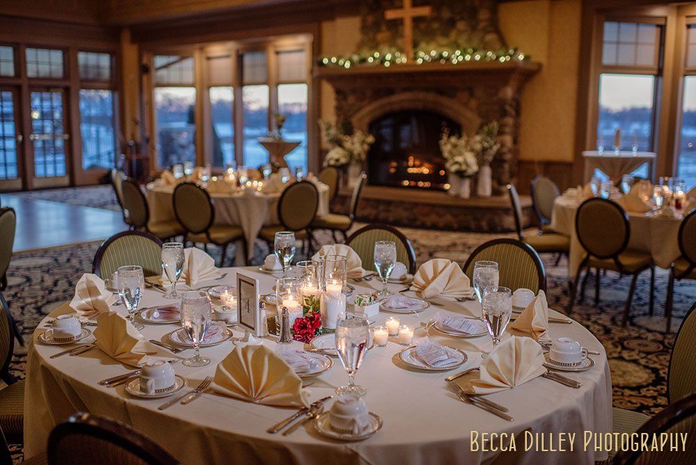 Rush Creek winter wedding mn