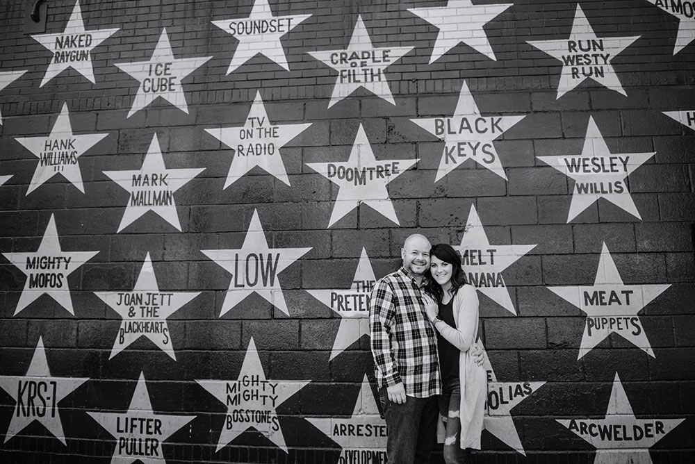 First Ave Engagement Photos Minneapolis MN