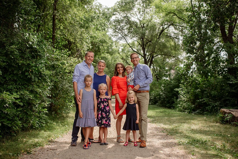 Minneapolis Extended Family Portraits