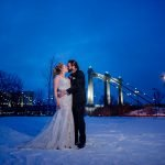 nicollet island wedding winter