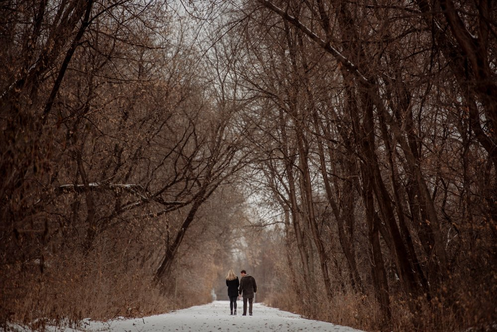 2017 favorite photos best Minneapolis photographer engagement in woods