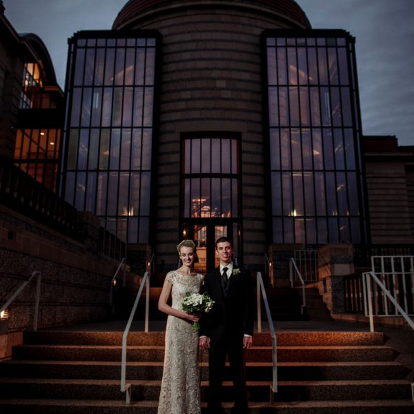 St Paul History Center wedding