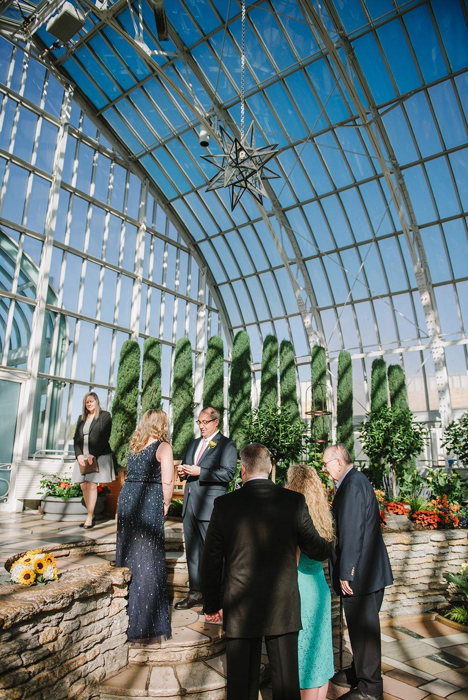breakfast wedding at Como Conservatory