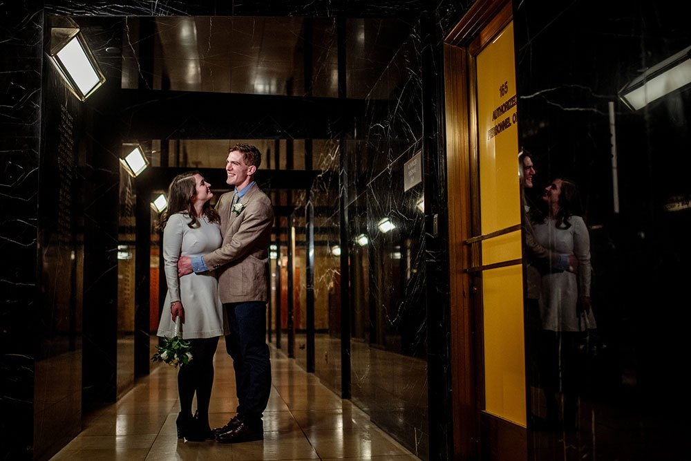 St Paul City Hall Elopement