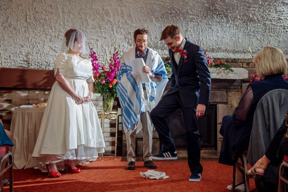 wedding at wabasha street caves, st paul, mn