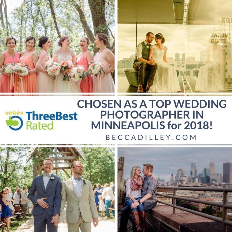 top rated minneapolis wedding photographers