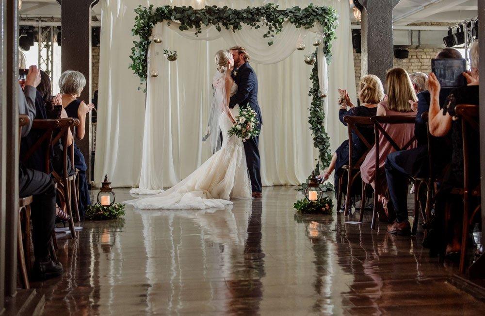 Lumber Exchange Wedding ceremony minneapolis