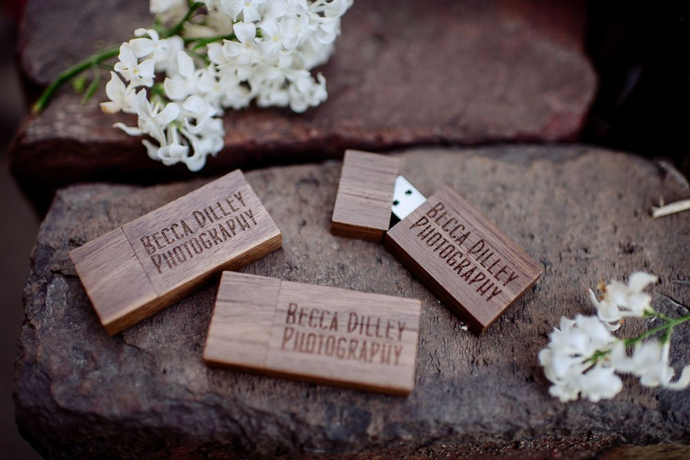 custom usb flash drive for minneapolis weddings