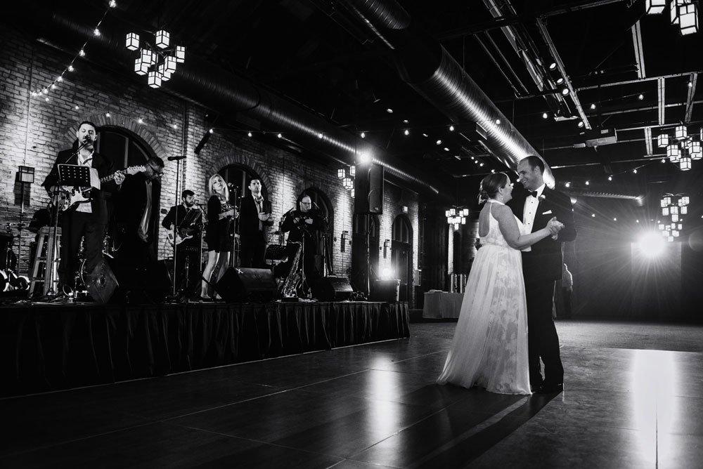 Nicollet Island Pavilion Wedding