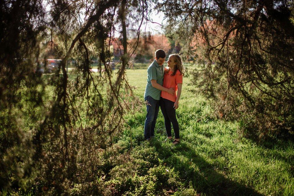 spring engagement photos minneapolis