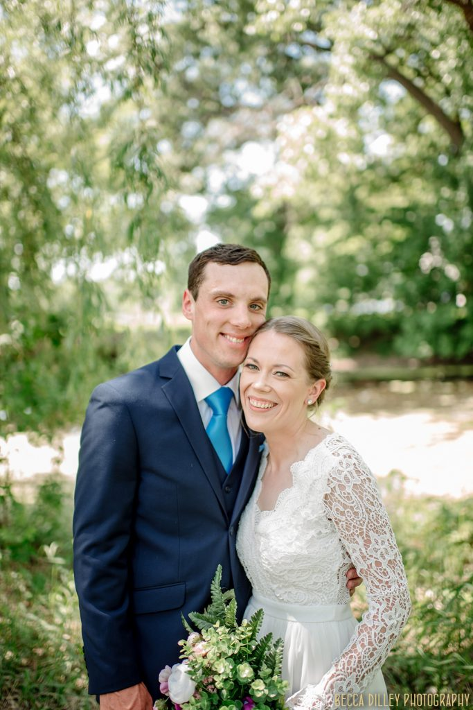 happy couple smiling in park - If you are planning your MN elopement