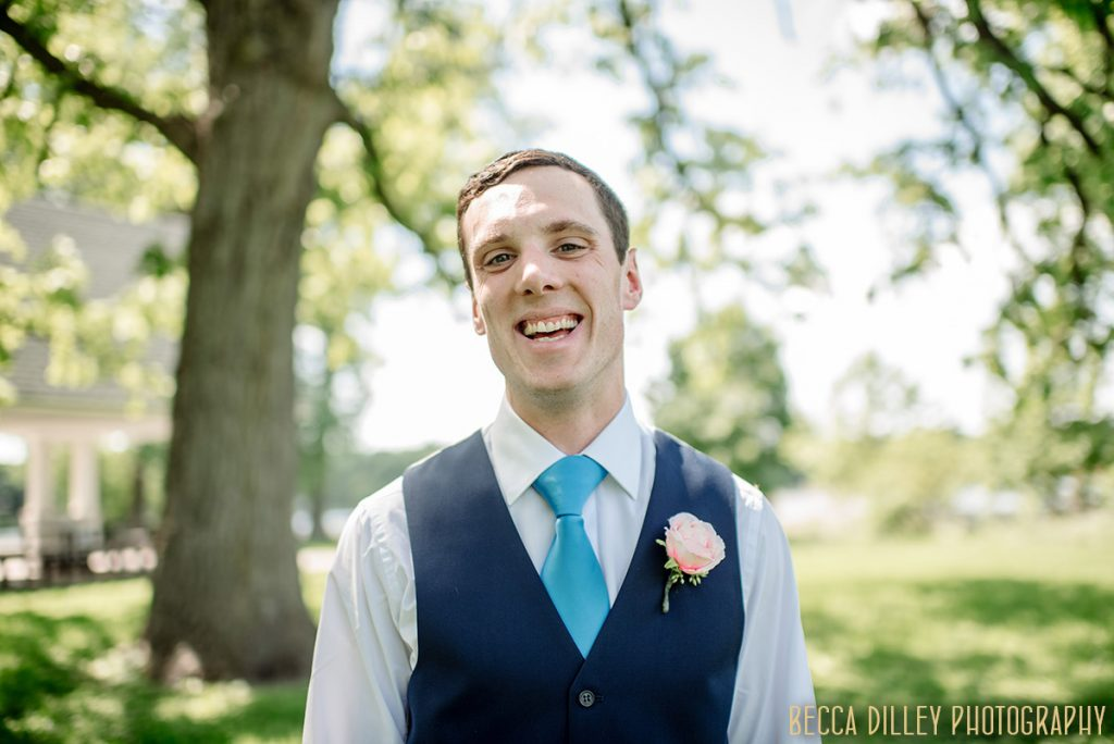 groom in park If you are planning your MN elopement