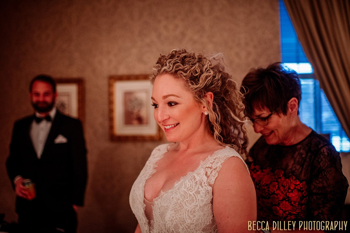 Minneapolis winter wedding at aster cafe