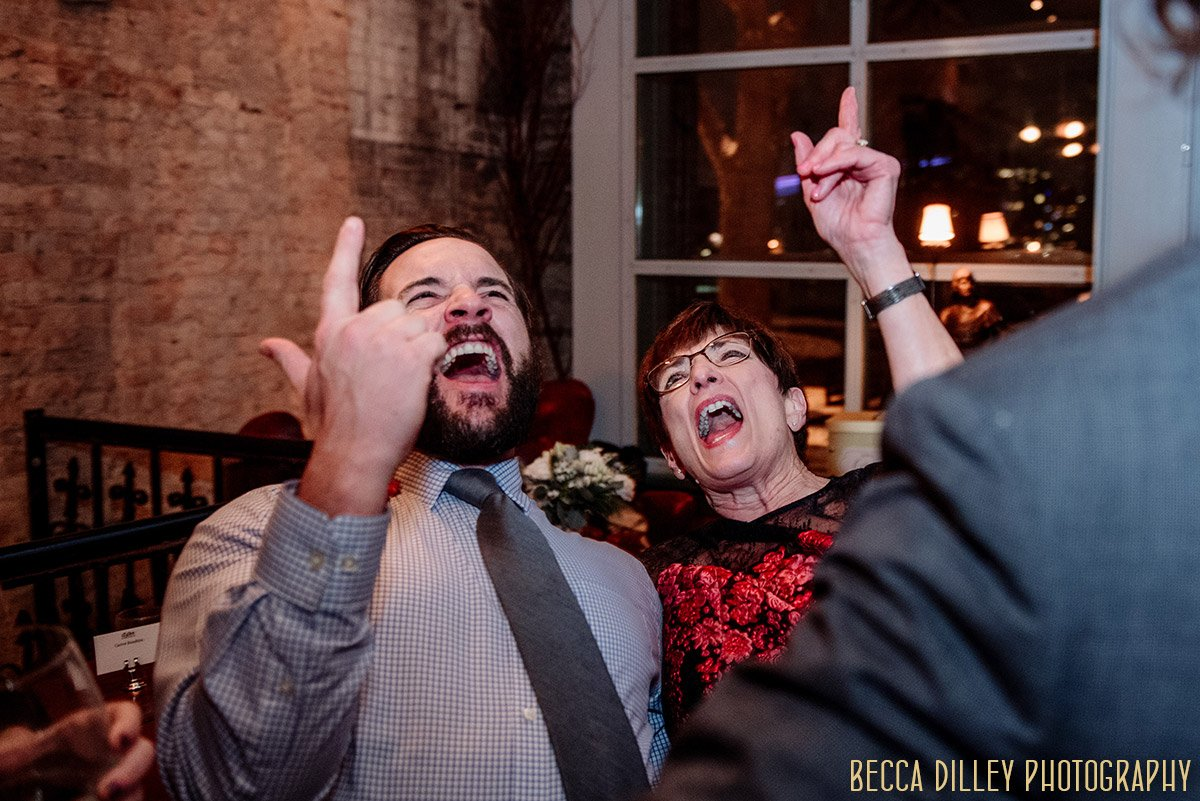 Aster Cafe wedding in Winter