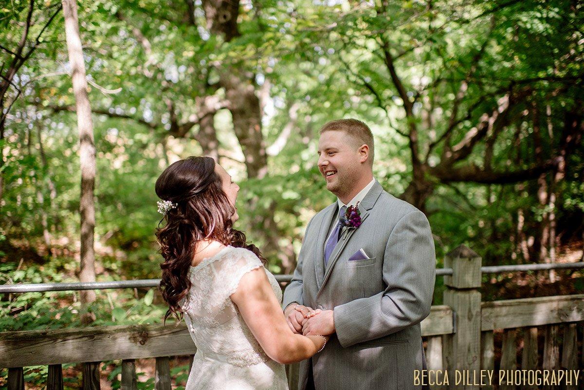 mn arboretum wedding first look