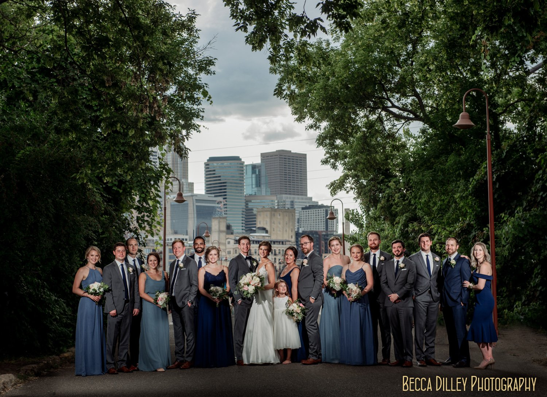 wedding flash composite minneapolis